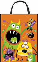 Silly Halloween Monsters Tote Bag (1)